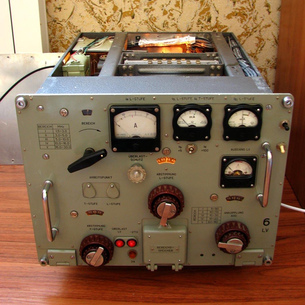 6l6 Home Made Amateur Transmitter